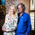 Gonzague Saint Bris et Alice Bertheaume