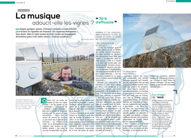 double page mag Touraine Gaudrelle